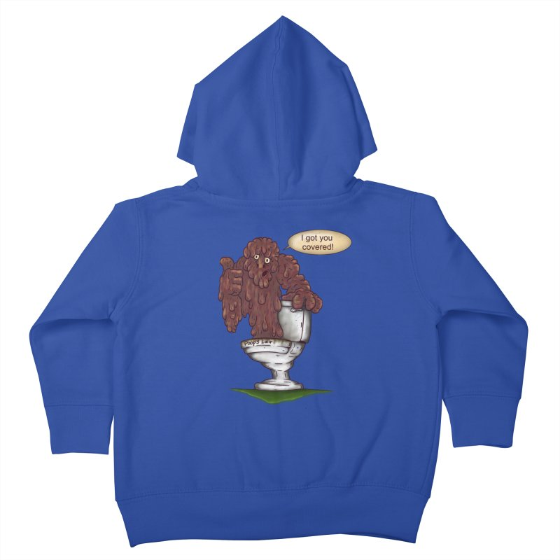 I got you covered! Kids Toddler Zip-Up Hoody by The Last Tsunami's Artist Shop