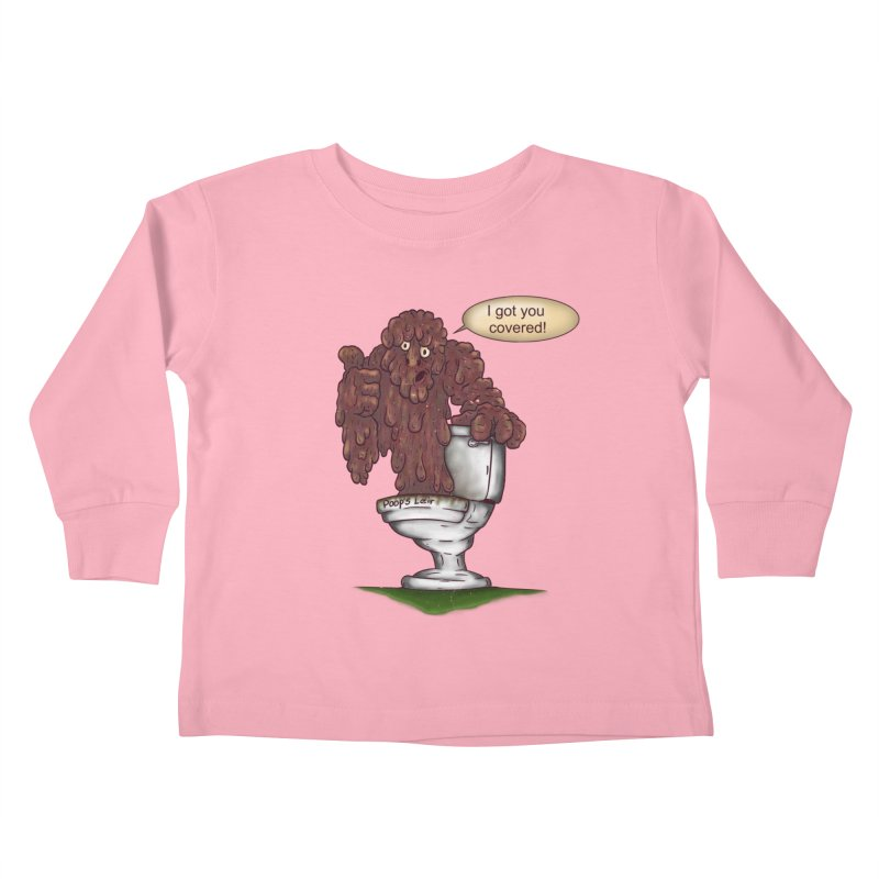 I got you covered! Kids Toddler Longsleeve T-Shirt by The Last Tsunami's Artist Shop