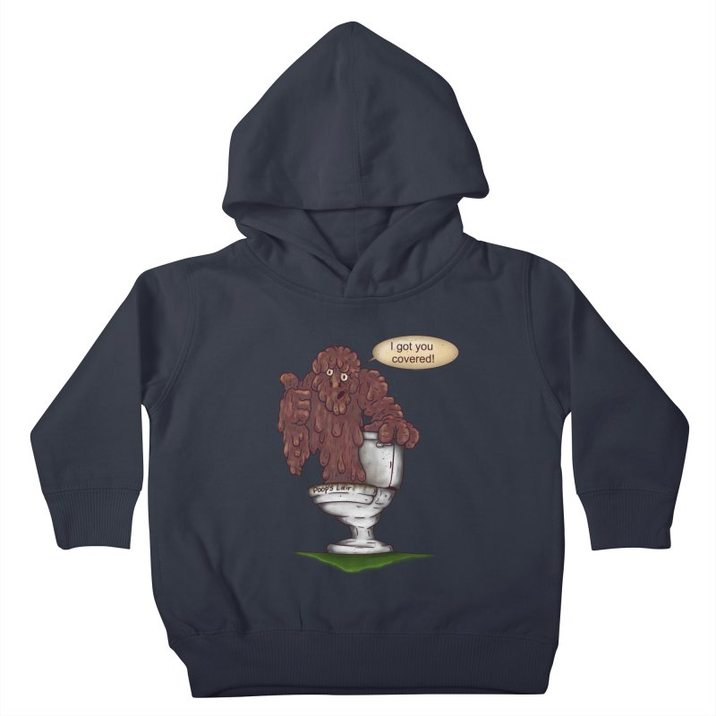 I got you covered! Kids Toddler Pullover Hoody by The Last Tsunami's Artist Shop