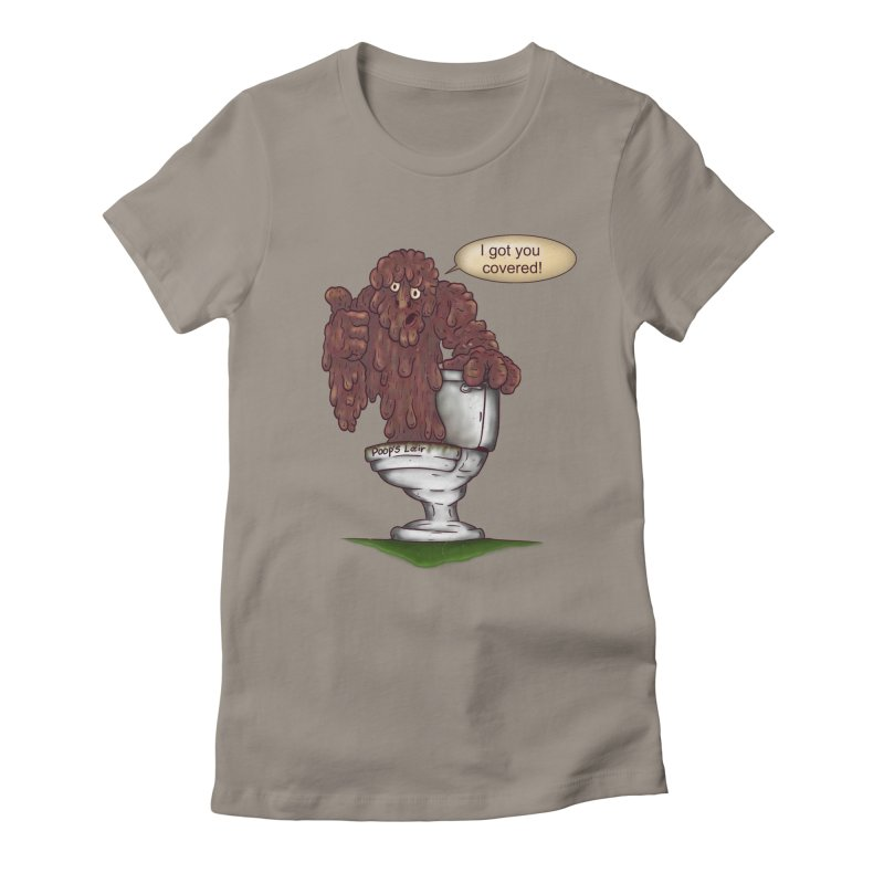 I got you covered! Women's Fitted T-Shirt by The Last Tsunami's Artist Shop