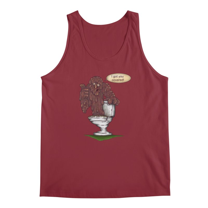 I got you covered! Men's Tank by The Last Tsunami's Artist Shop