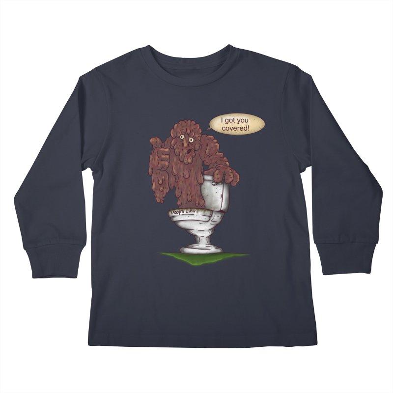 I got you covered! Kids Longsleeve T-Shirt by The Last Tsunami's Artist Shop