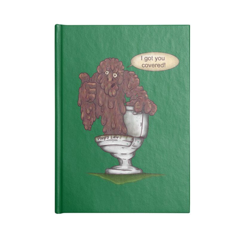 I got you covered! Accessories Blank Journal Notebook by The Last Tsunami's Artist Shop