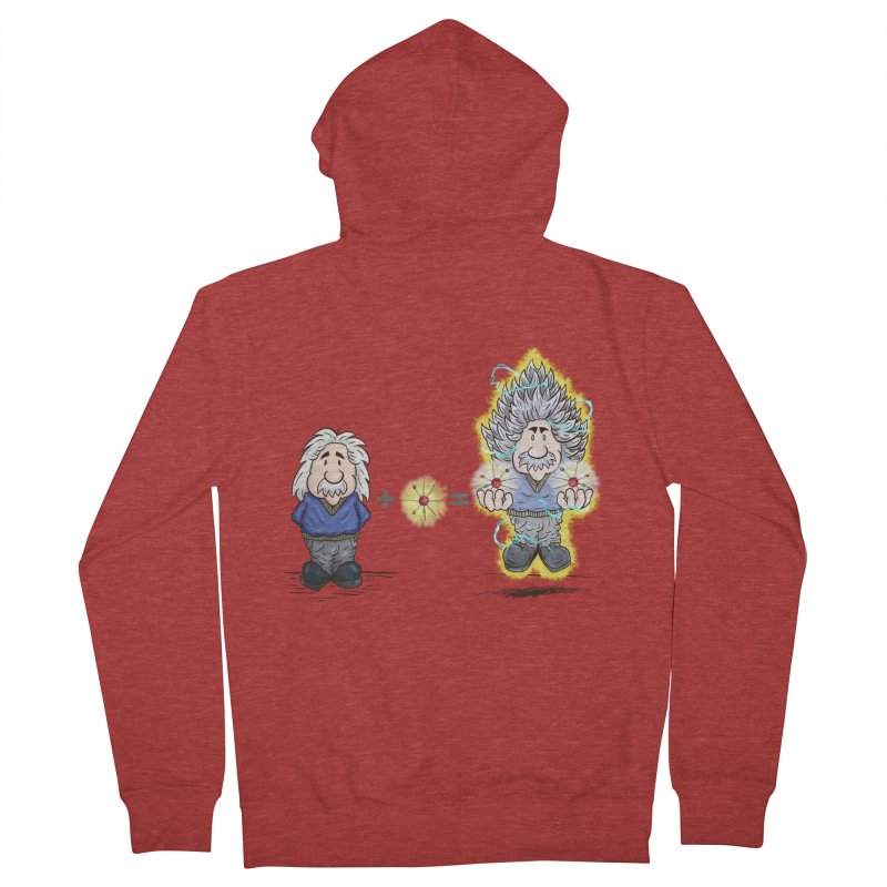 Super Saiyentist Men's Zip-Up Hoody by The Last Tsunami's Artist Shop