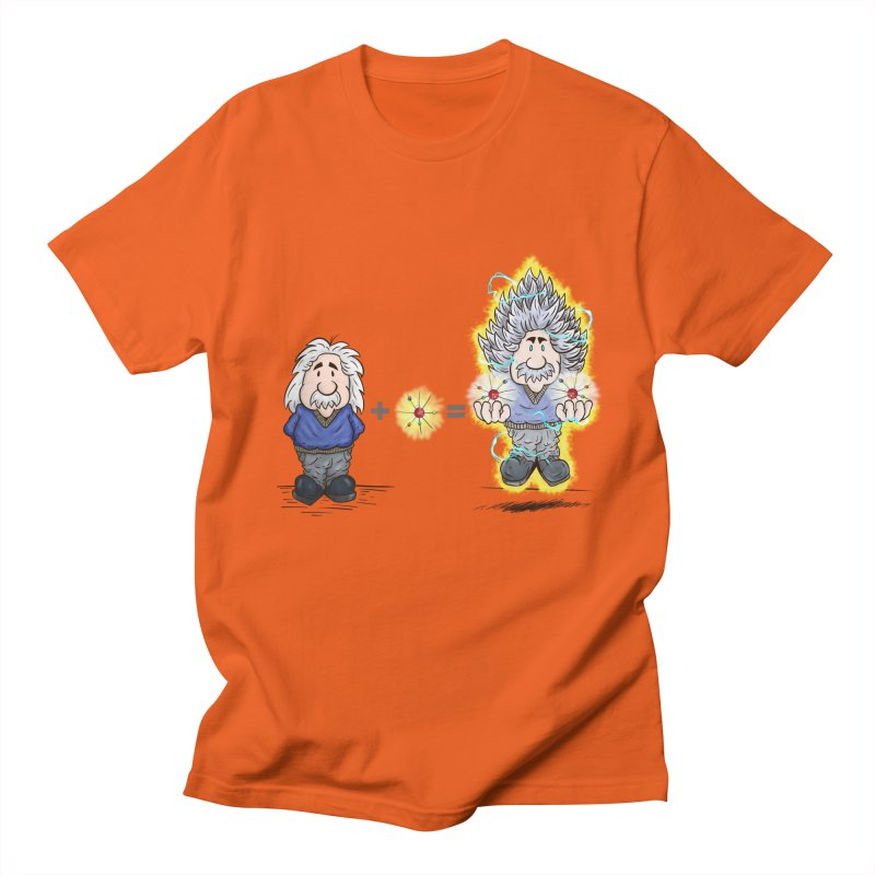 Super Saiyentist Men's T-Shirt by The Last Tsunami's Artist Shop