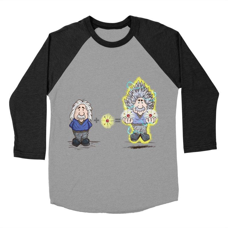 Super Saiyentist Women's Baseball Triblend T-Shirt by The Last Tsunami's Artist Shop