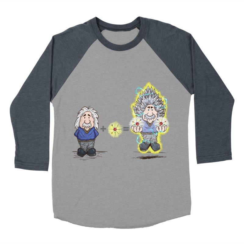 Super Saiyentist Men's Baseball Triblend T-Shirt by The Last Tsunami's Artist Shop