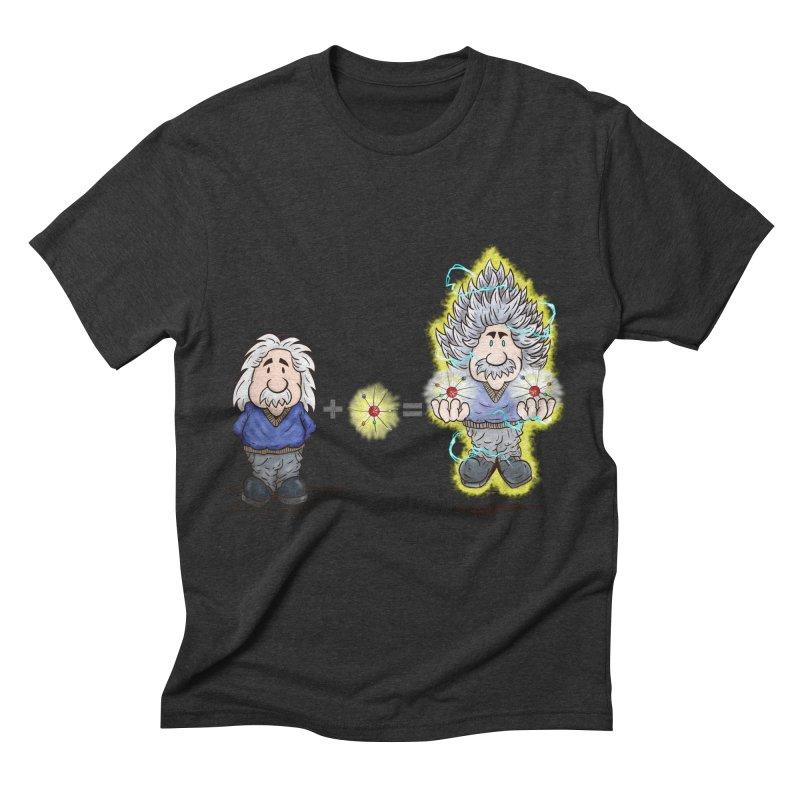 Super Saiyentist Men's Triblend T-shirt by The Last Tsunami's Artist Shop