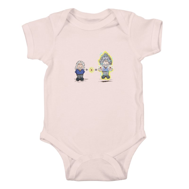Super Saiyentist Kids Baby Bodysuit by The Last Tsunami's Artist Shop