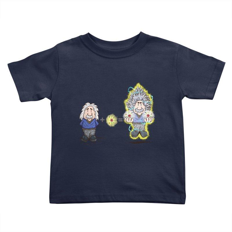 Super Saiyentist Kids Toddler T-Shirt by The Last Tsunami's Artist Shop