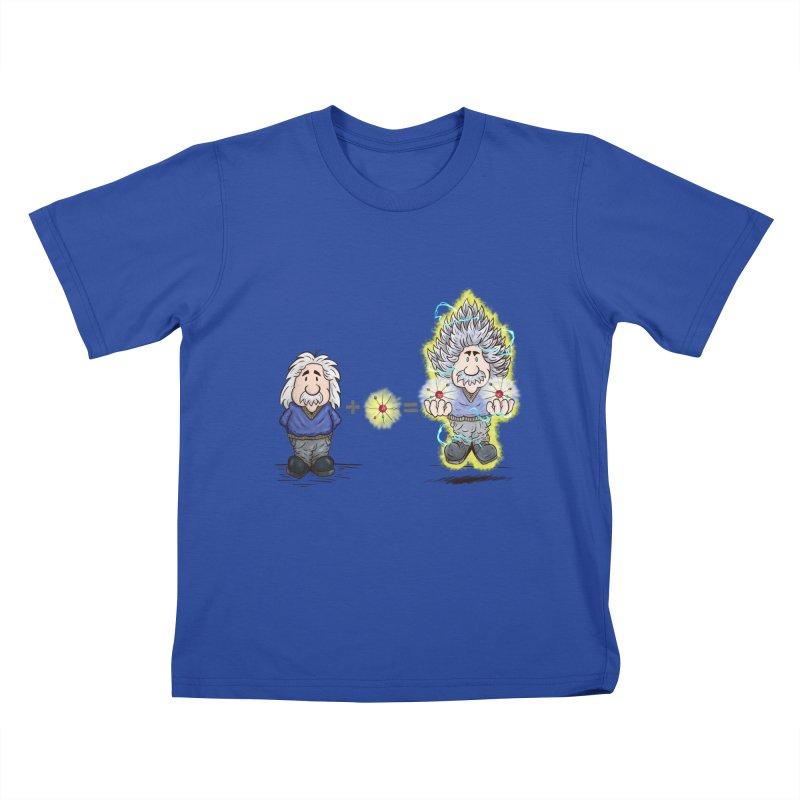 Super Saiyentist Kids T-shirt by The Last Tsunami's Artist Shop