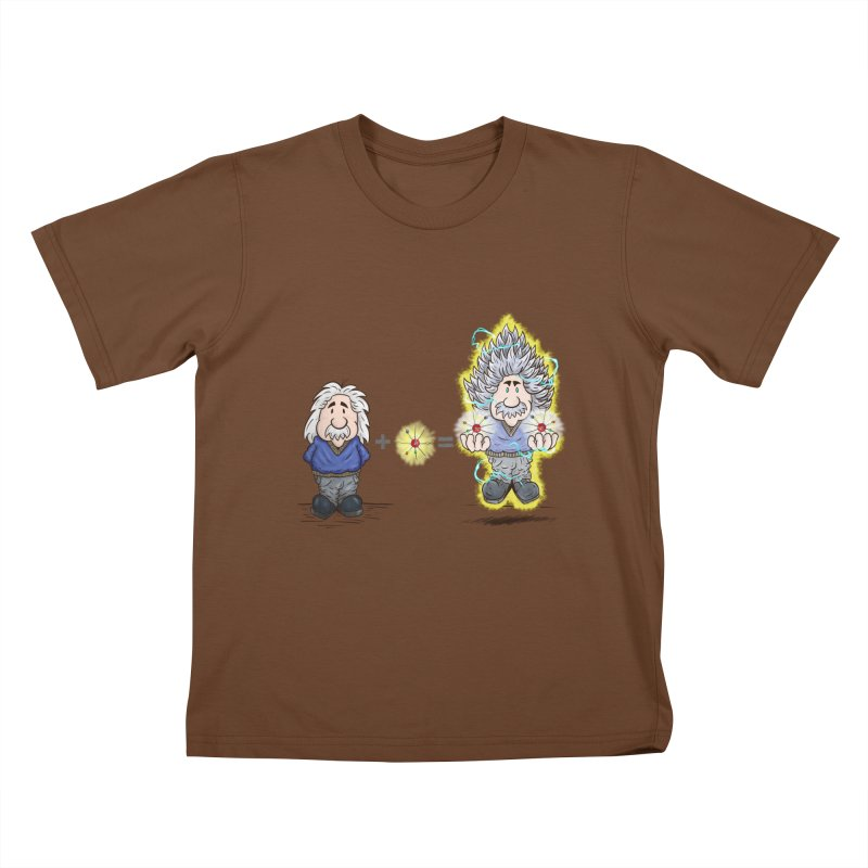 Super Saiyentist Kids T-shirt by The Last Tsunami's Artist Shop