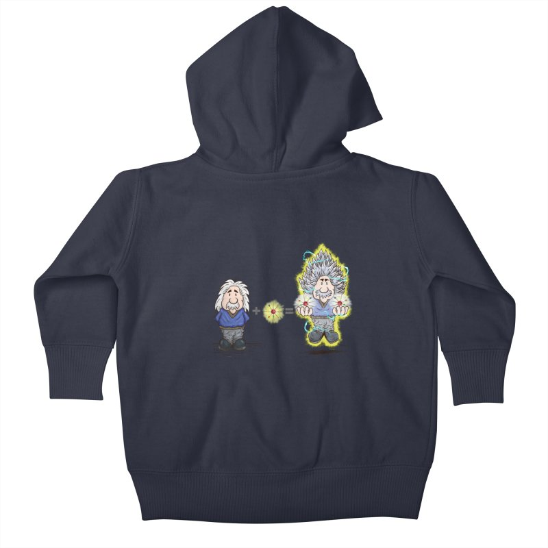 Super Saiyentist Kids Baby Zip-Up Hoody by The Last Tsunami's Artist Shop