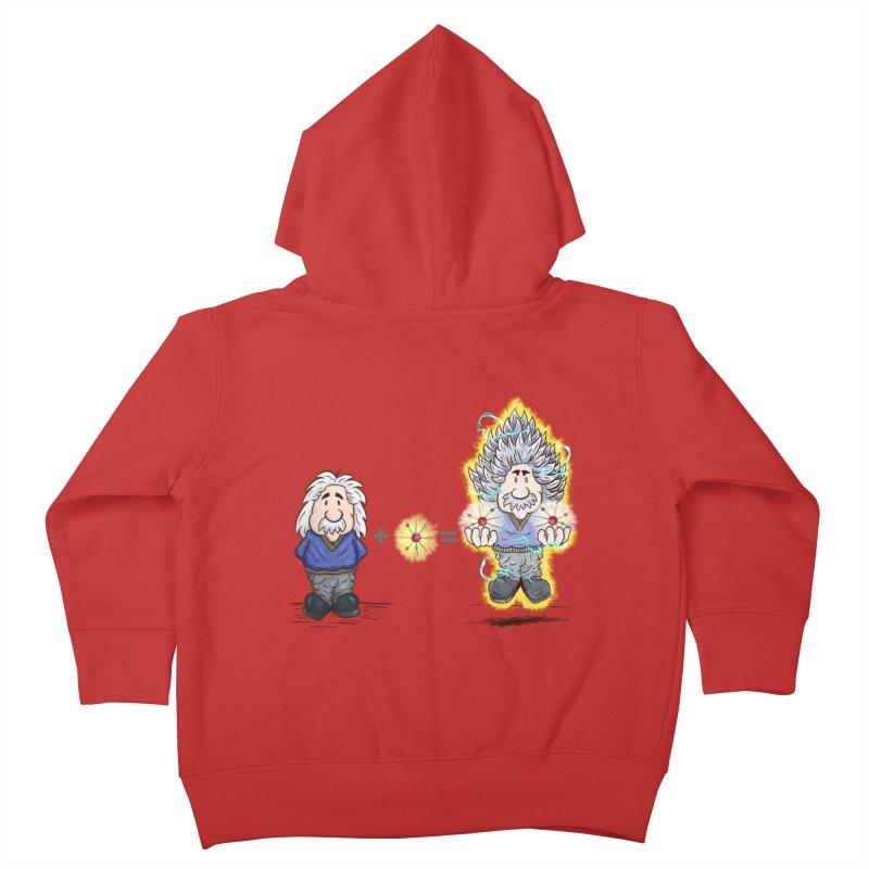 Super Saiyentist Kids Toddler Zip-Up Hoody by The Last Tsunami's Artist Shop
