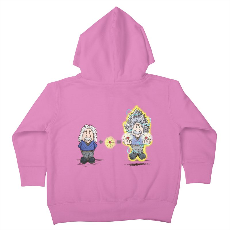 Super Saiyentist Kids Toddler Zip-Up Hoody by The Last Tsunami's Artist Shop