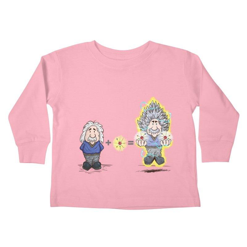 Super Saiyentist Kids Toddler Longsleeve T-Shirt by The Last Tsunami's Artist Shop