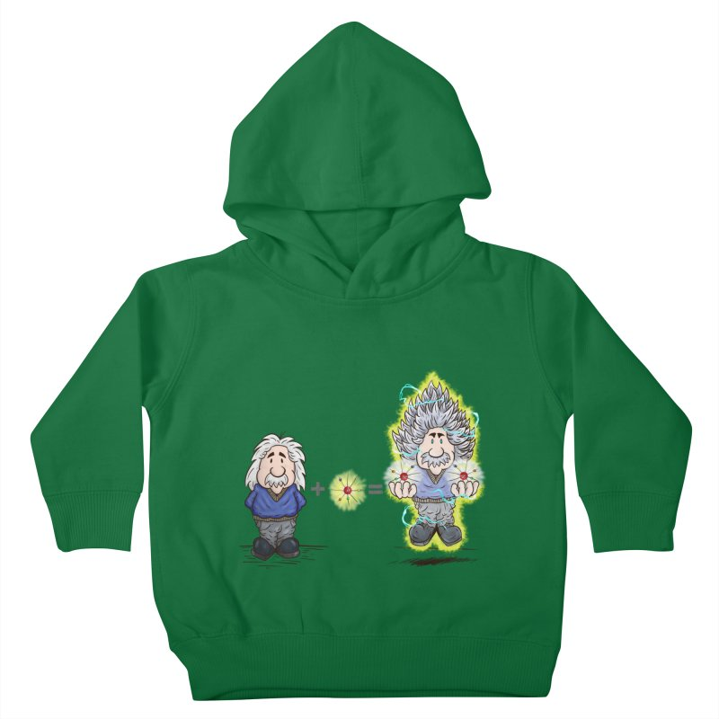 Super Saiyentist Kids Toddler Pullover Hoody by The Last Tsunami's Artist Shop