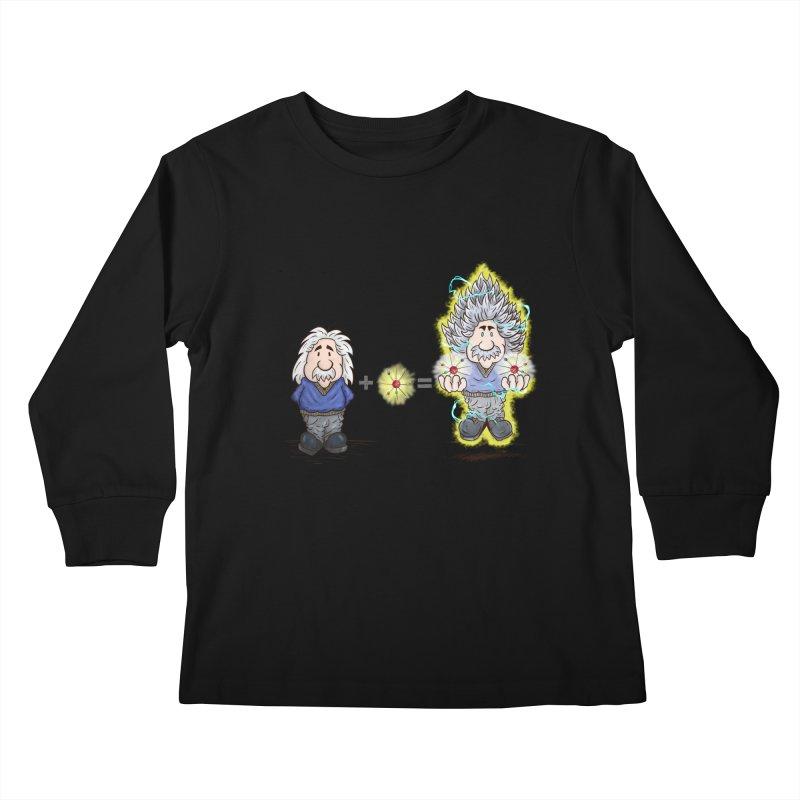 Super Saiyentist Kids Longsleeve T-Shirt by The Last Tsunami's Artist Shop
