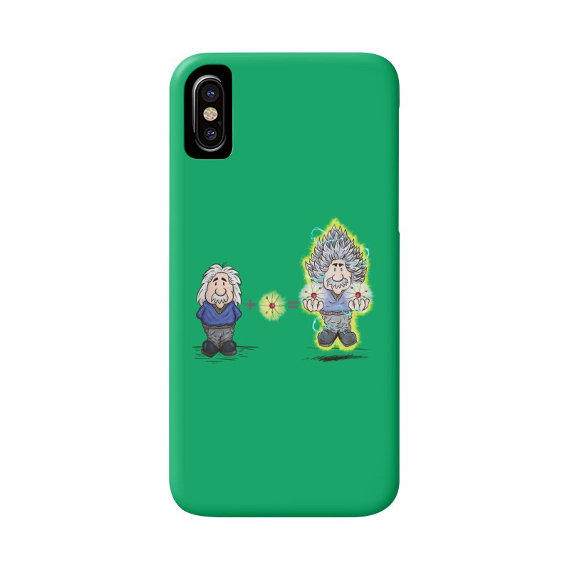 Super Saiyentist Accessories Phone Case by The Last Tsunami's Artist Shop