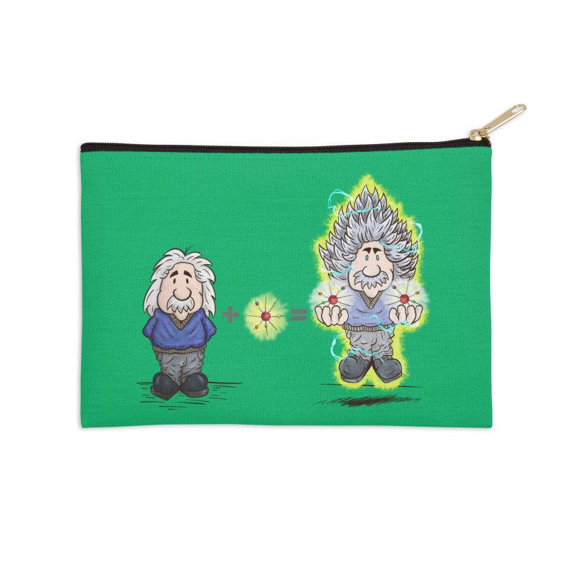 Super Saiyentist Accessories Zip Pouch by The Last Tsunami's Artist Shop