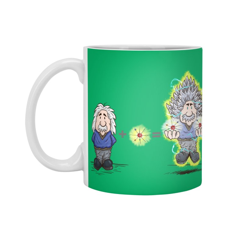 Super Saiyentist Accessories Mug by The Last Tsunami's Artist Shop