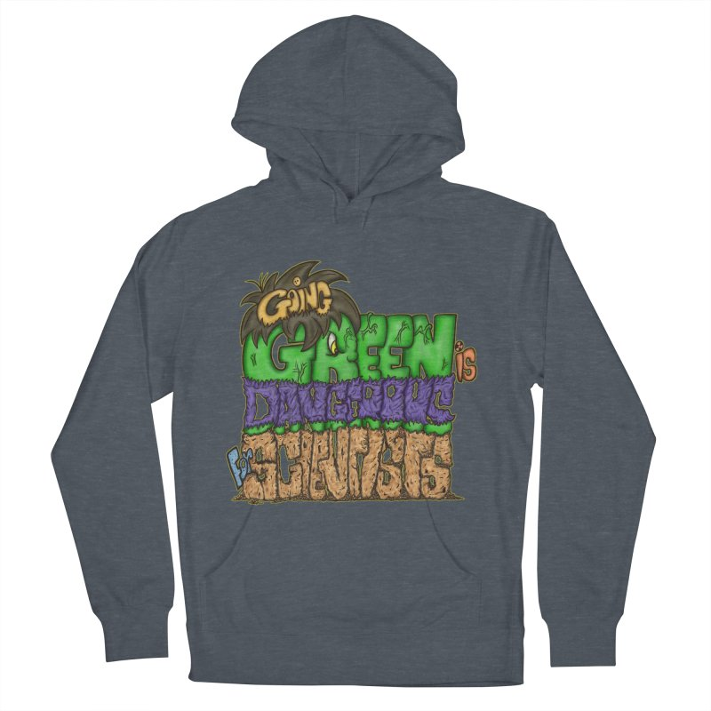 Going Green Men's Pullover Hoody by The Last Tsunami's Artist Shop