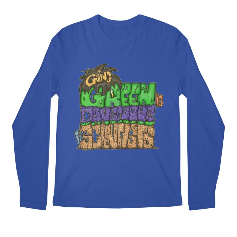 Going Green Men's Longsleeve T-Shirt by The Last Tsunami's Artist Shop
