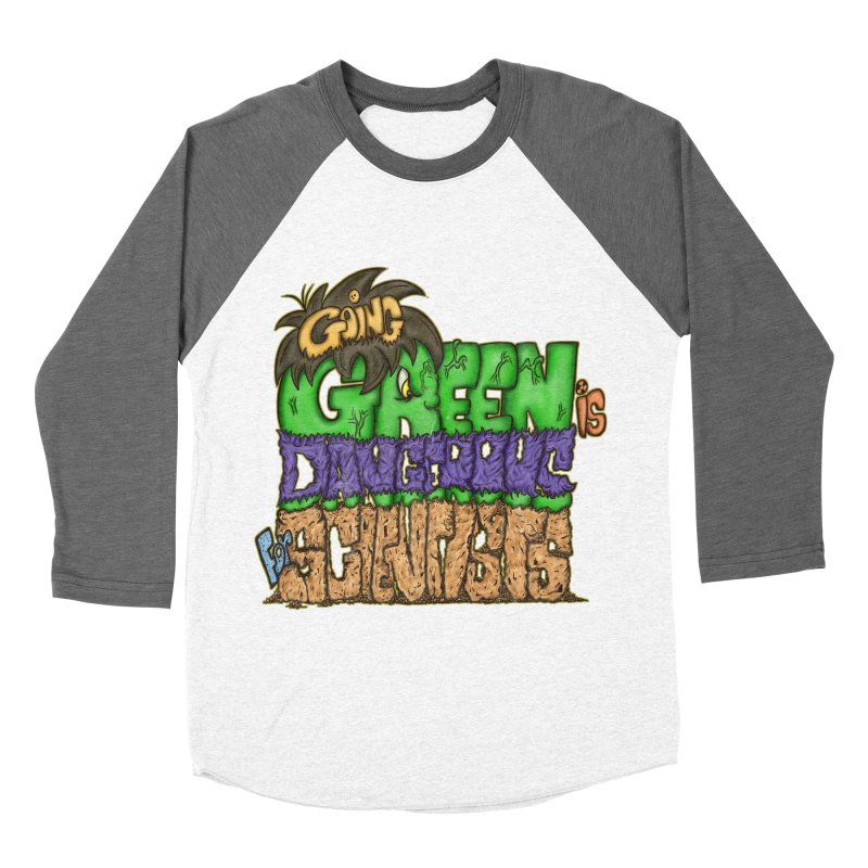 Going Green Men's Baseball Triblend T-Shirt by The Last Tsunami's Artist Shop