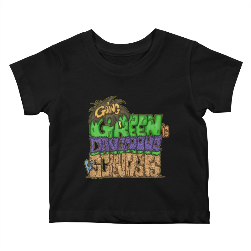 Going Green Kids Baby T-Shirt by The Last Tsunami's Artist Shop