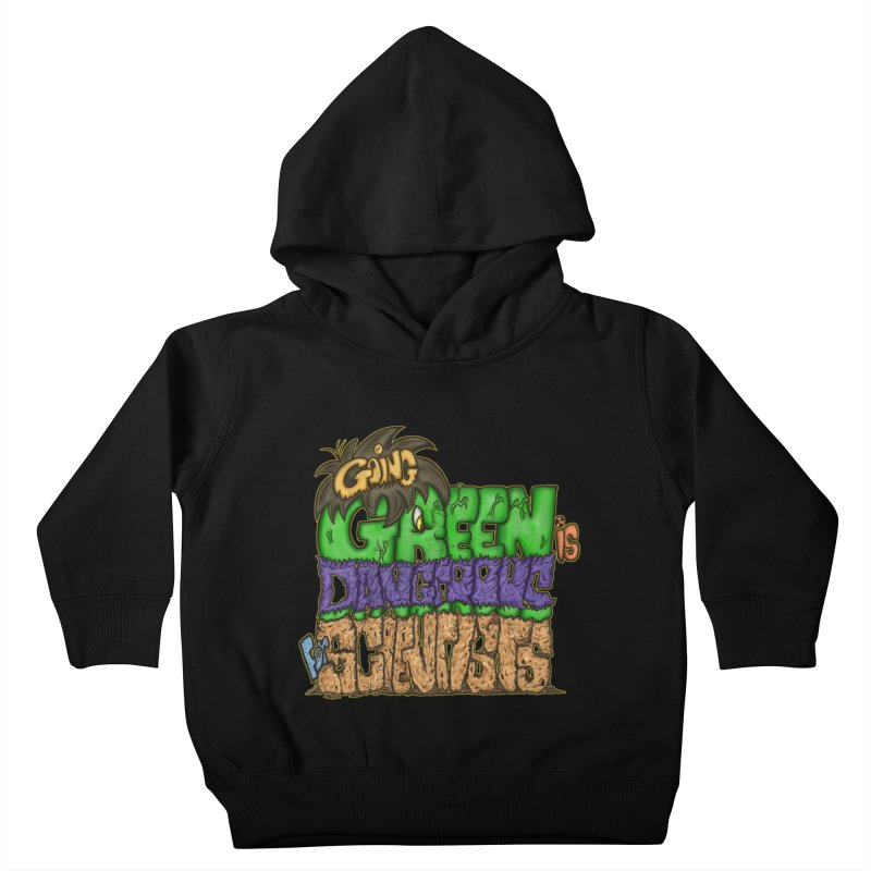 Going Green Kids Toddler Pullover Hoody by The Last Tsunami's Artist Shop