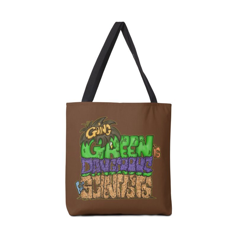 Going Green Accessories Bag by The Last Tsunami's Artist Shop