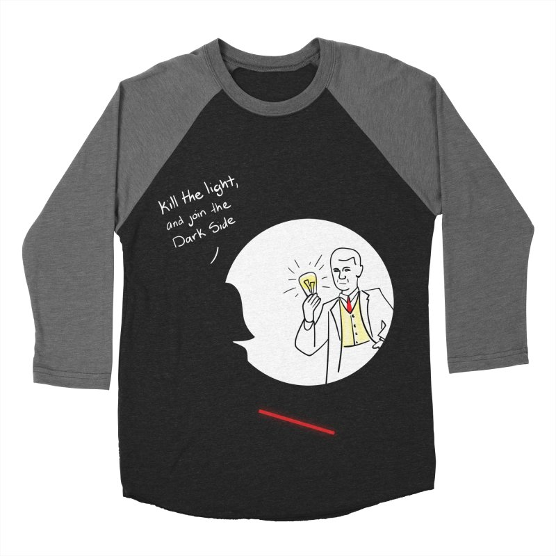 The Dark Side of the Room Women's Baseball Triblend T-Shirt by The Last Tsunami's Artist Shop