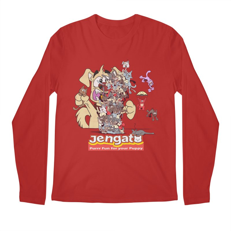 Jengato Men's Longsleeve T-Shirt by The Last Tsunami's Artist Shop