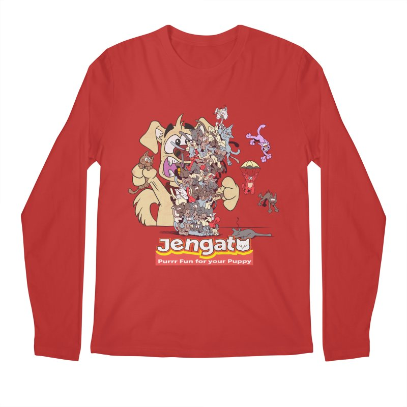 Jengato Men's Regular Longsleeve T-Shirt by The Last Tsunami's Artist Shop