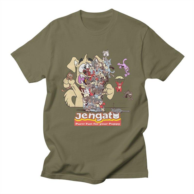 Jengato Women's Unisex T-Shirt by The Last Tsunami's Artist Shop