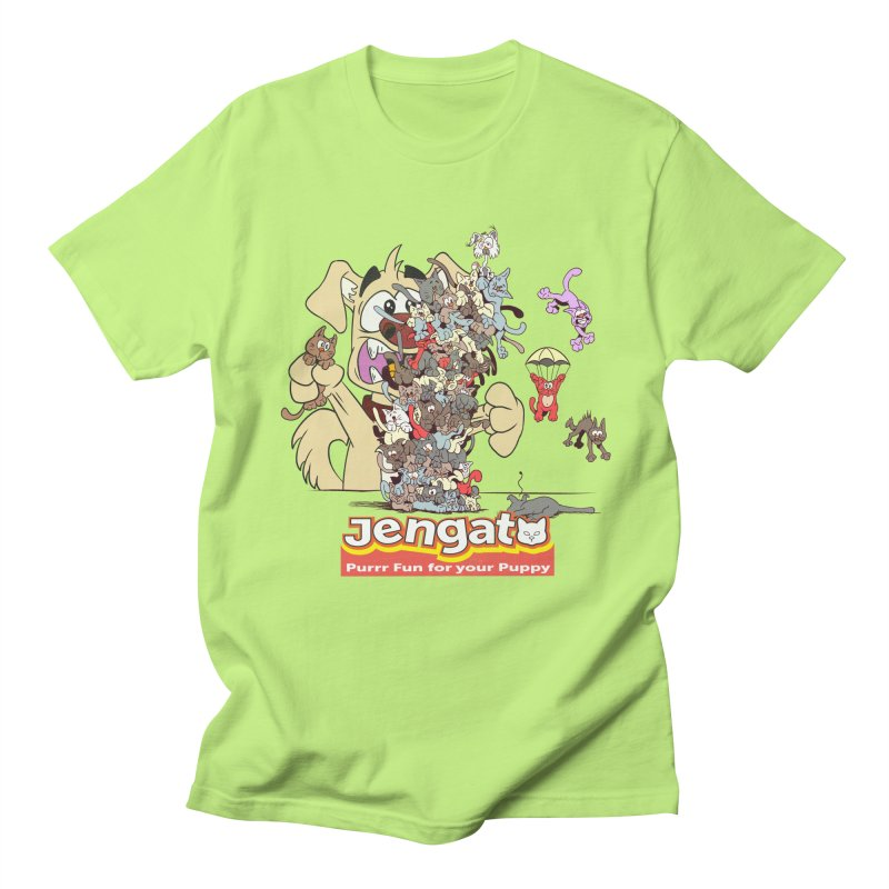 Jengato Women's Unisex T-Shirt by The Last Tsunami's Artist Shop