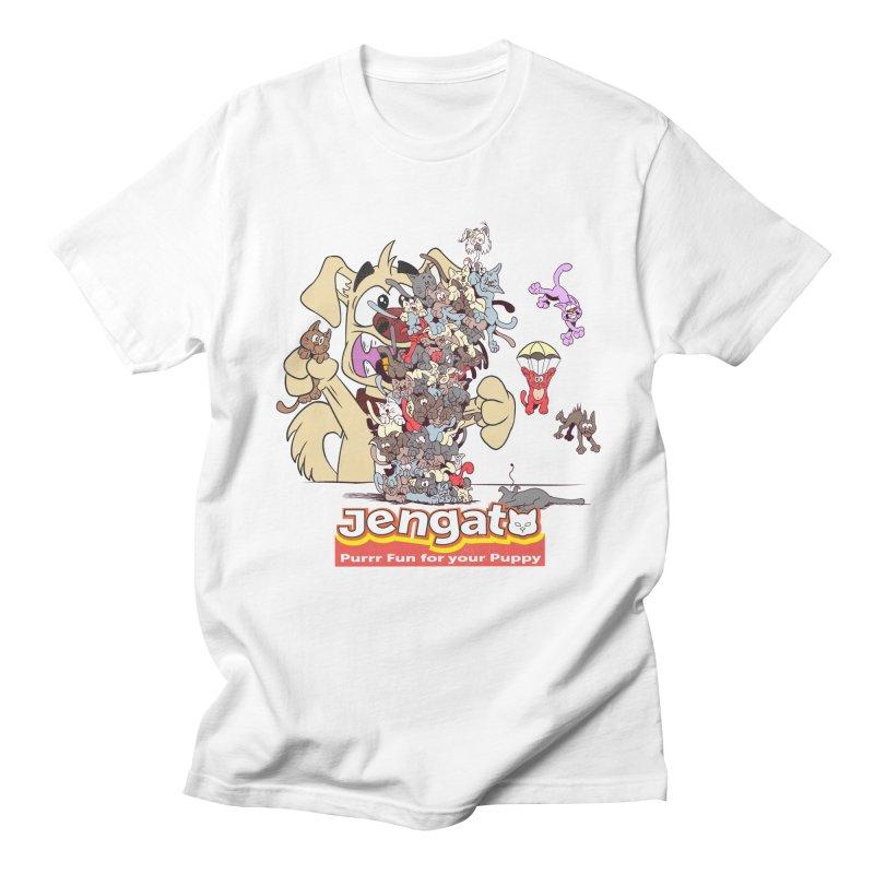 Jengato Men's T-shirt by The Last Tsunami's Artist Shop