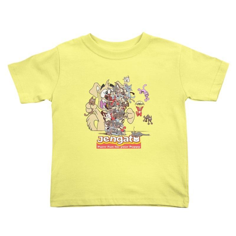 Jengato Kids Toddler T-Shirt by The Last Tsunami's Artist Shop