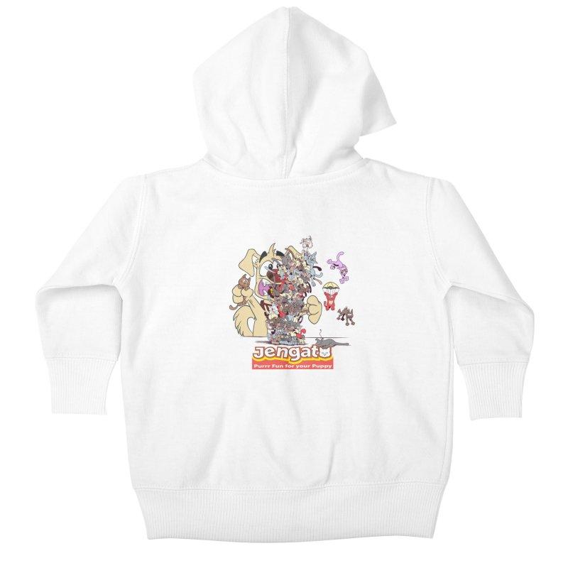 Jengato Kids Baby Zip-Up Hoody by The Last Tsunami's Artist Shop