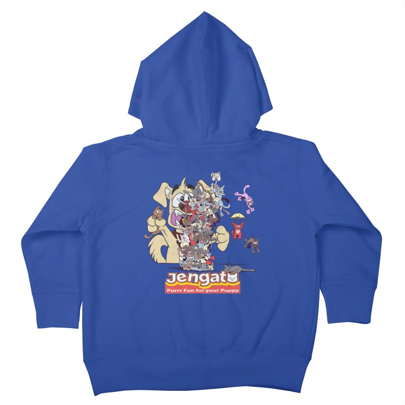 Jengato Kids Toddler Zip-Up Hoody by The Last Tsunami's Artist Shop
