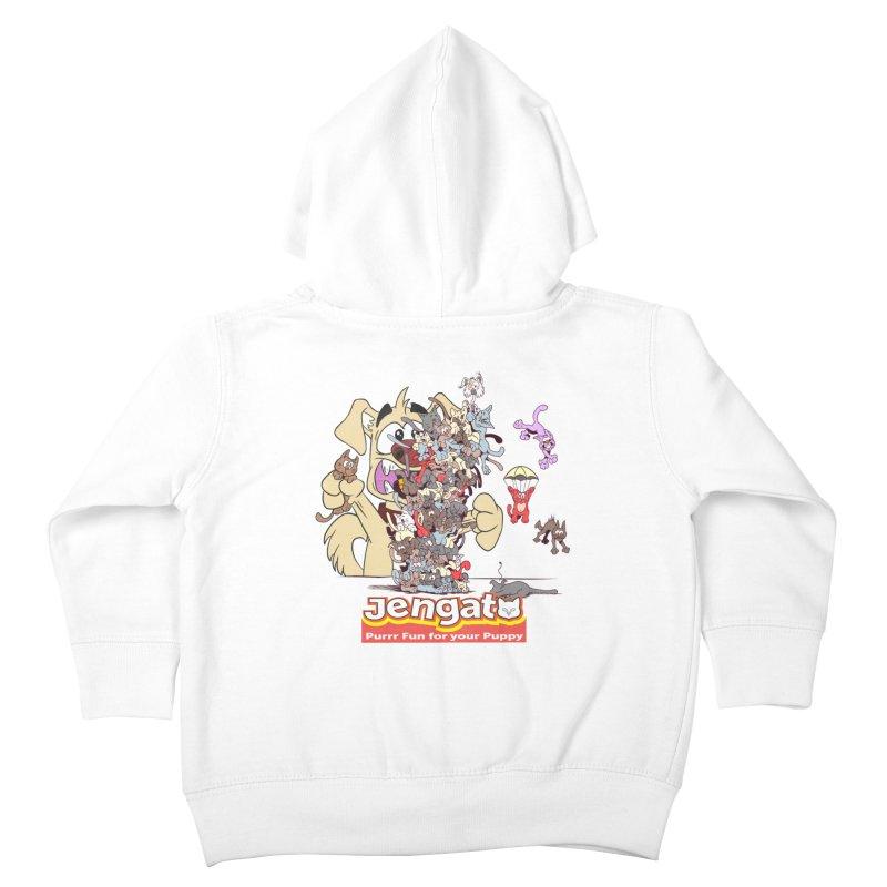 Jengato Kids Toddler Zip-Up Hoody by The Last Tsunami's Artist Shop