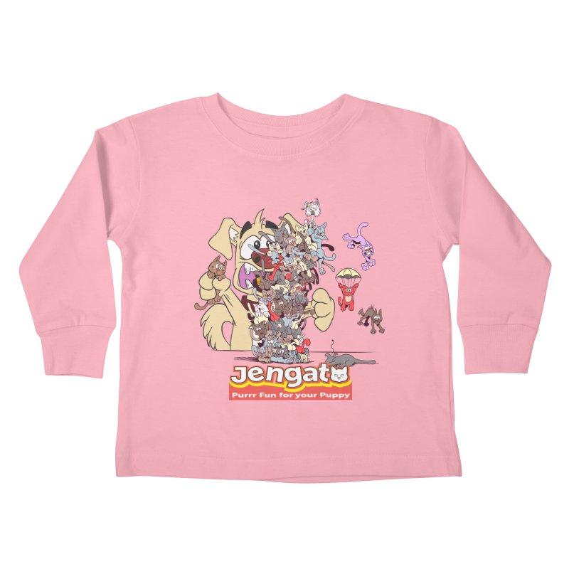 Jengato Kids Toddler Longsleeve T-Shirt by The Last Tsunami's Artist Shop