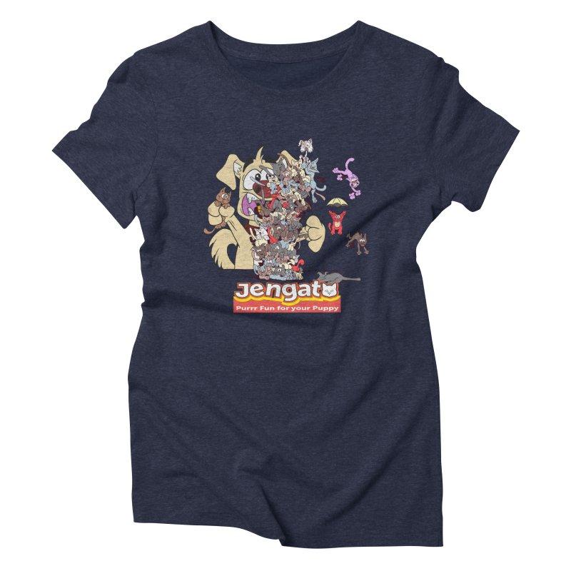 Jengato Women's Triblend T-shirt by The Last Tsunami's Artist Shop