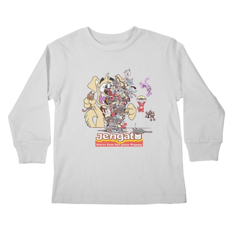 Jengato Kids Longsleeve T-Shirt by The Last Tsunami's Artist Shop