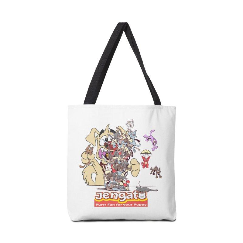 Jengato Accessories Bag by The Last Tsunami's Artist Shop