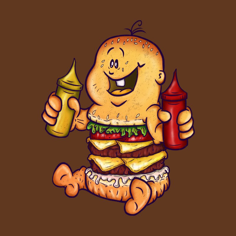 Baby Burger by The Last Tsunami's Artist Shop