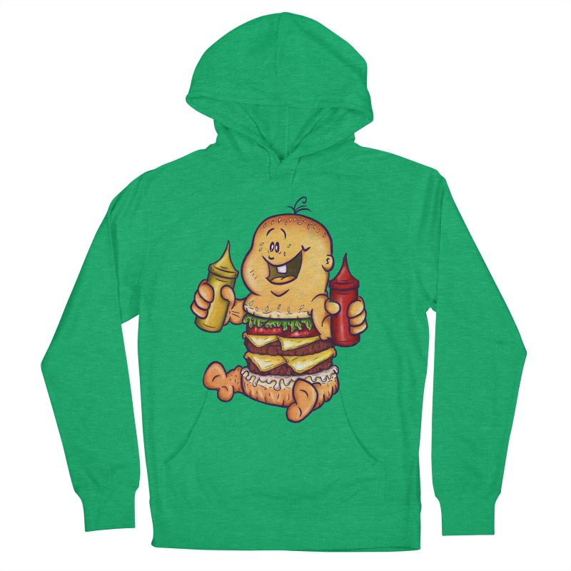 Baby Burger Women's Pullover Hoody by The Last Tsunami's Artist Shop