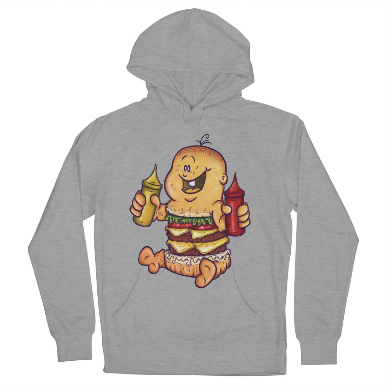 Baby Burger Men's Pullover Hoody by The Last Tsunami's Artist Shop
