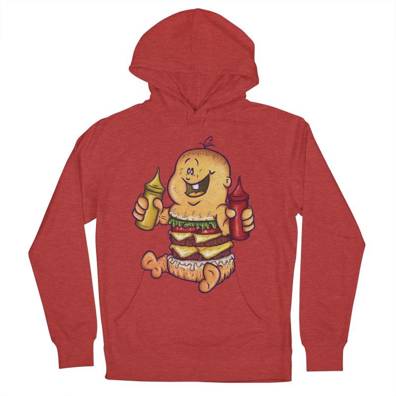 Baby Burger Men's Pullover Hoody by The Last Tsunami's Artist Shop