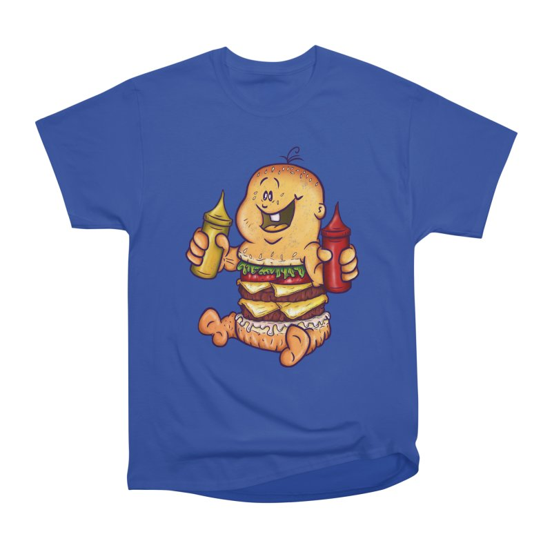 Baby Burger Women's Classic Unisex T-Shirt by The Last Tsunami's Artist Shop